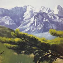 박용인, 북한산의 위용, Oil on canvas, 162.2x130.3cm.jpg