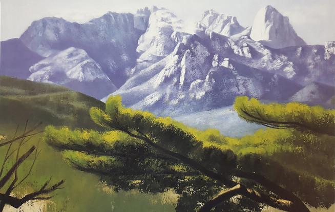 11. 북한산의 위용, Oil on canvas, 162.2x130.3cm.jpg