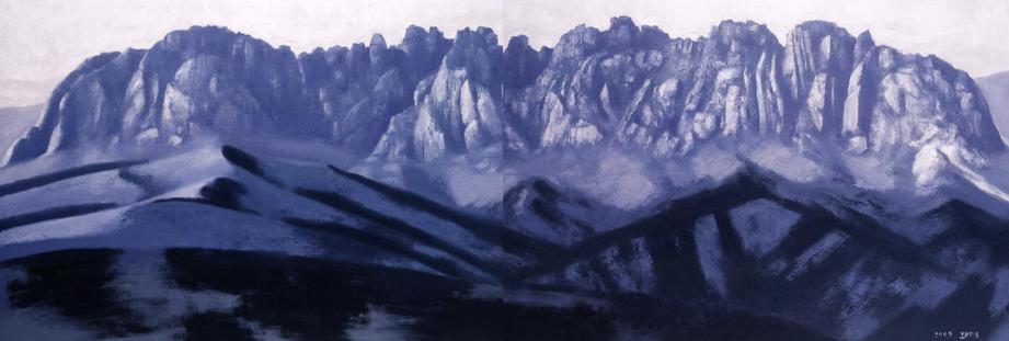울산바위, Oil on canvas, 324.4x112_edited.jpg