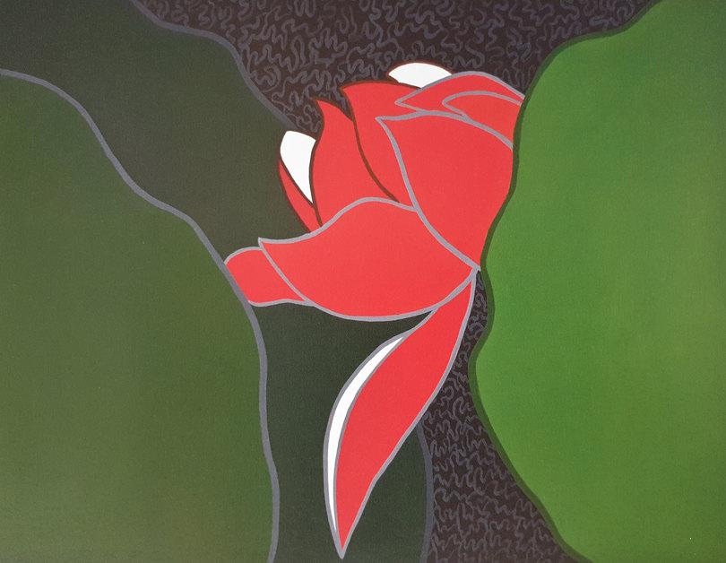 인고 (忍苦)의 환상(幻想) 116.7 x 91cm  acrylic on canvas 2013.