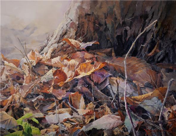 휴식의 공간 162×130 oil on canvas 2012.