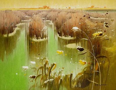 심상의 소리-을숙도B, Oil on canvas, 162.28x130.3cm. 2009..jpg