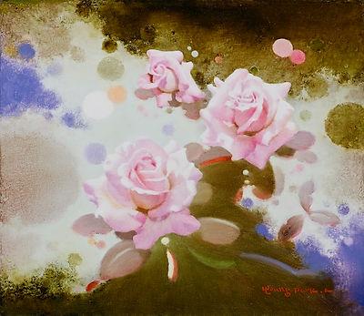 5月의 향기, Oil on canvas, 53.0x45.5cm. 2016.jpg