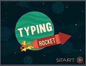 Typing Rocket game