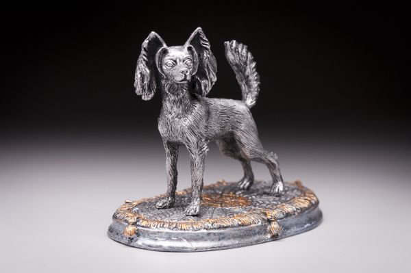Russkiy Toy pewter color silver