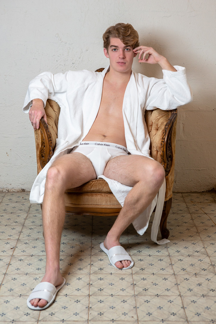 Eamon Yates in Bleach. Photo by Hunter Canning