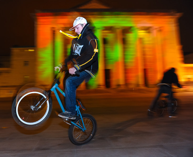 BMX in Guildhall Square - Paul Watts