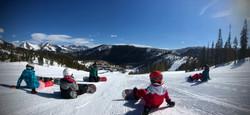 """""""Explorers"""", taken as Program Coach taking up the rear at Monarch Ski Resort"""