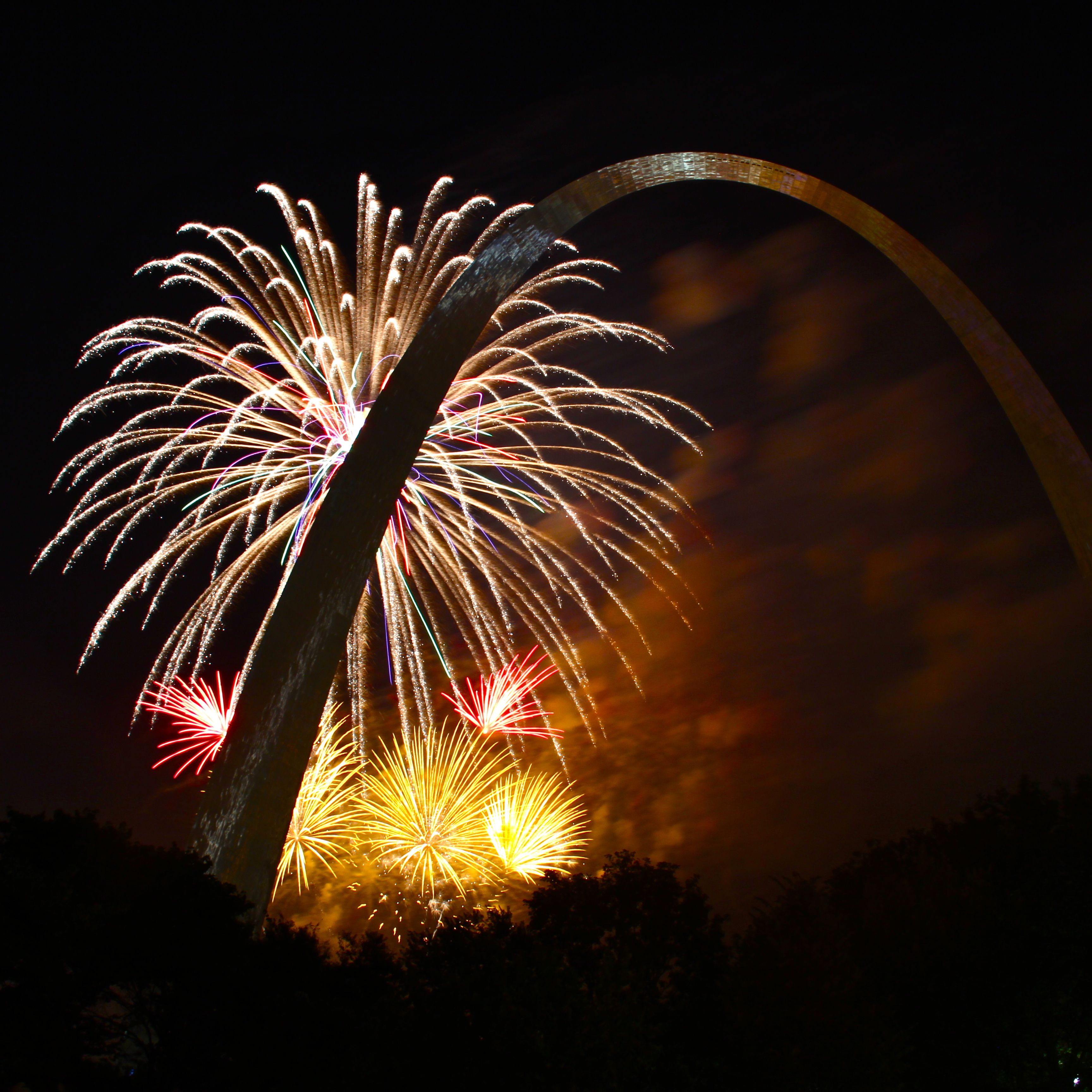 4th of July in St. Louis