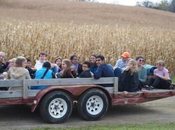 Hay Ride Fun!