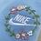 Thumbnail: Floral Nike Sweatshirt - Choose your Charity!