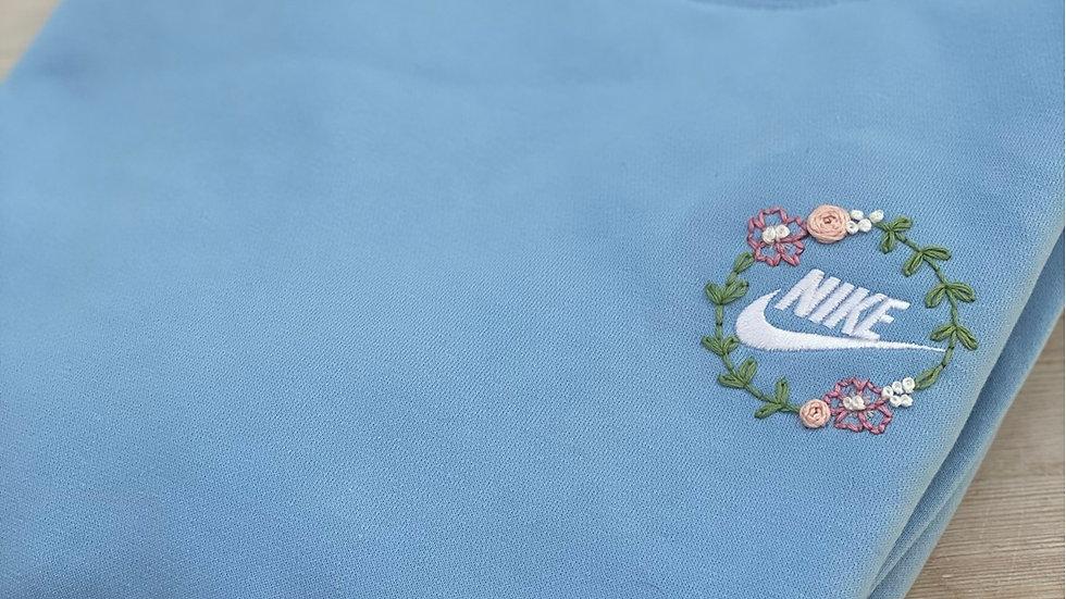 Floral Nike Sweatshirt - Choose your Charity!