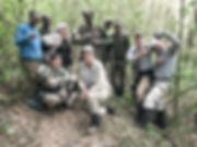 Kay Gilmour and Lois Gray in Rwanda 2017