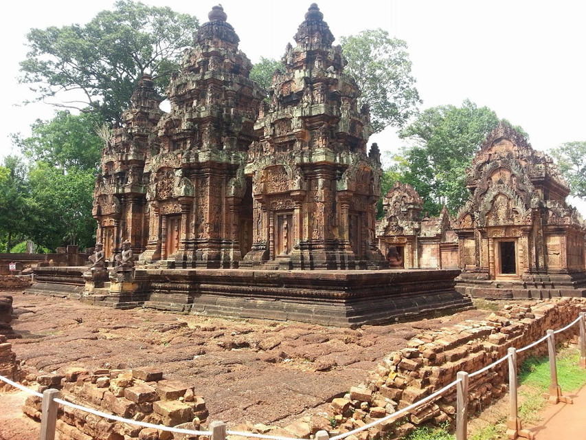 Cambodian temple