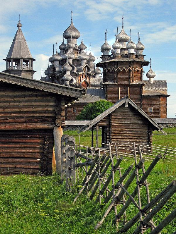Kihzi, Russia - Church of the Transfiguration