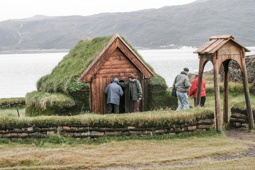 Small Viking chapel Greenland