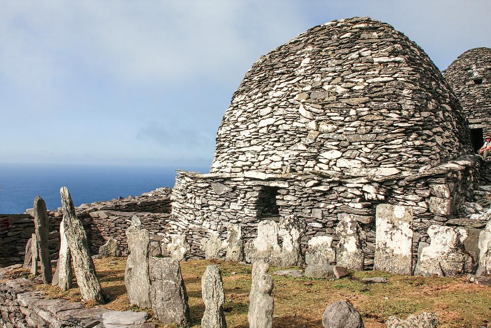 beahive slate structures Skellig Michael Island