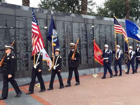Veteran's Memorial Wall