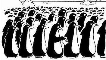 Penguin Pickpocket Cartoon