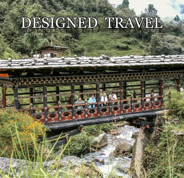 Bridge in Paro Valley, Bhutan