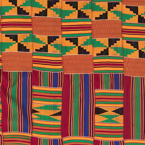 "Oyokoman double weave ""Ashanti Kingdom"""