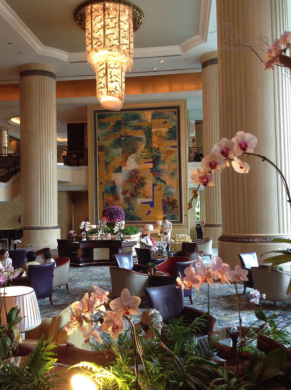 Lobby of the Shangri-La Hotel, Singapore