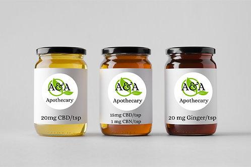 Organic Honey Series (3x4oz)