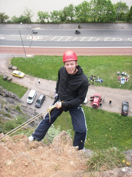 Sponsored Abseil