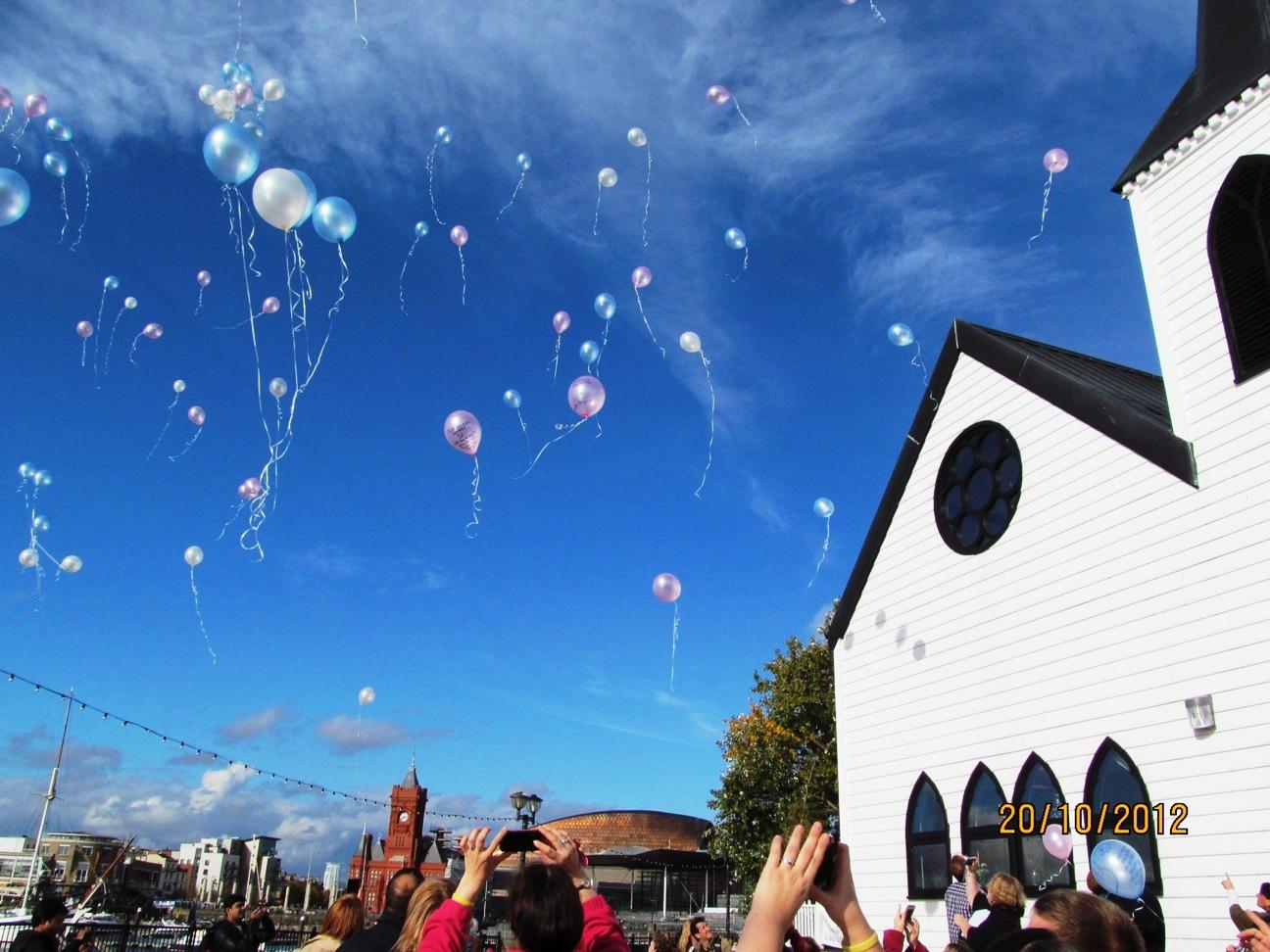 Balloon Release 2010