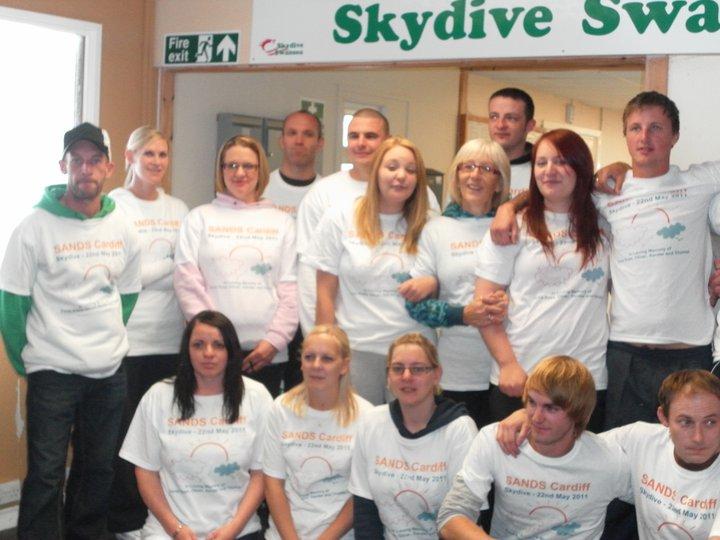Sponsored Skydive