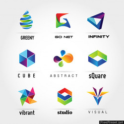 abstract-colorful-business-logo-collecti