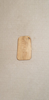 Cutting board, made out of oak wood