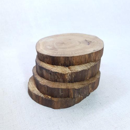 Padėkliukas iš riešuto medžio