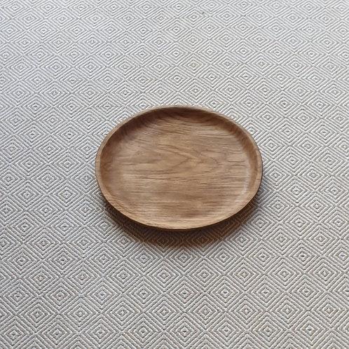 Lėkštė iš ąžuolo (24 cm)