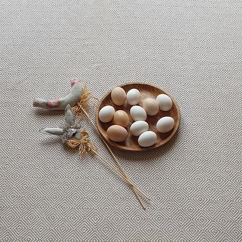 Lėkštė iš uosio (24 cm)