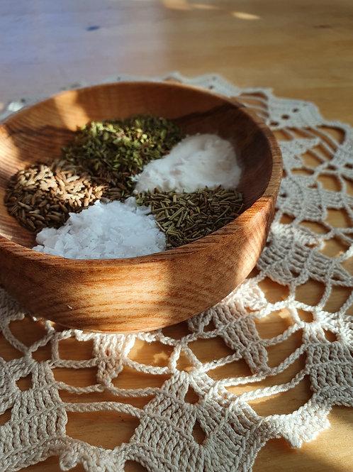 Wooden bowl (10 cm)
