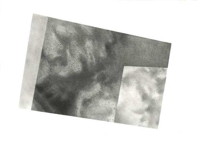 Rachelle Reichert Salar 2 2019 graphite on paper 13 1/4 x 12.2 in. framed