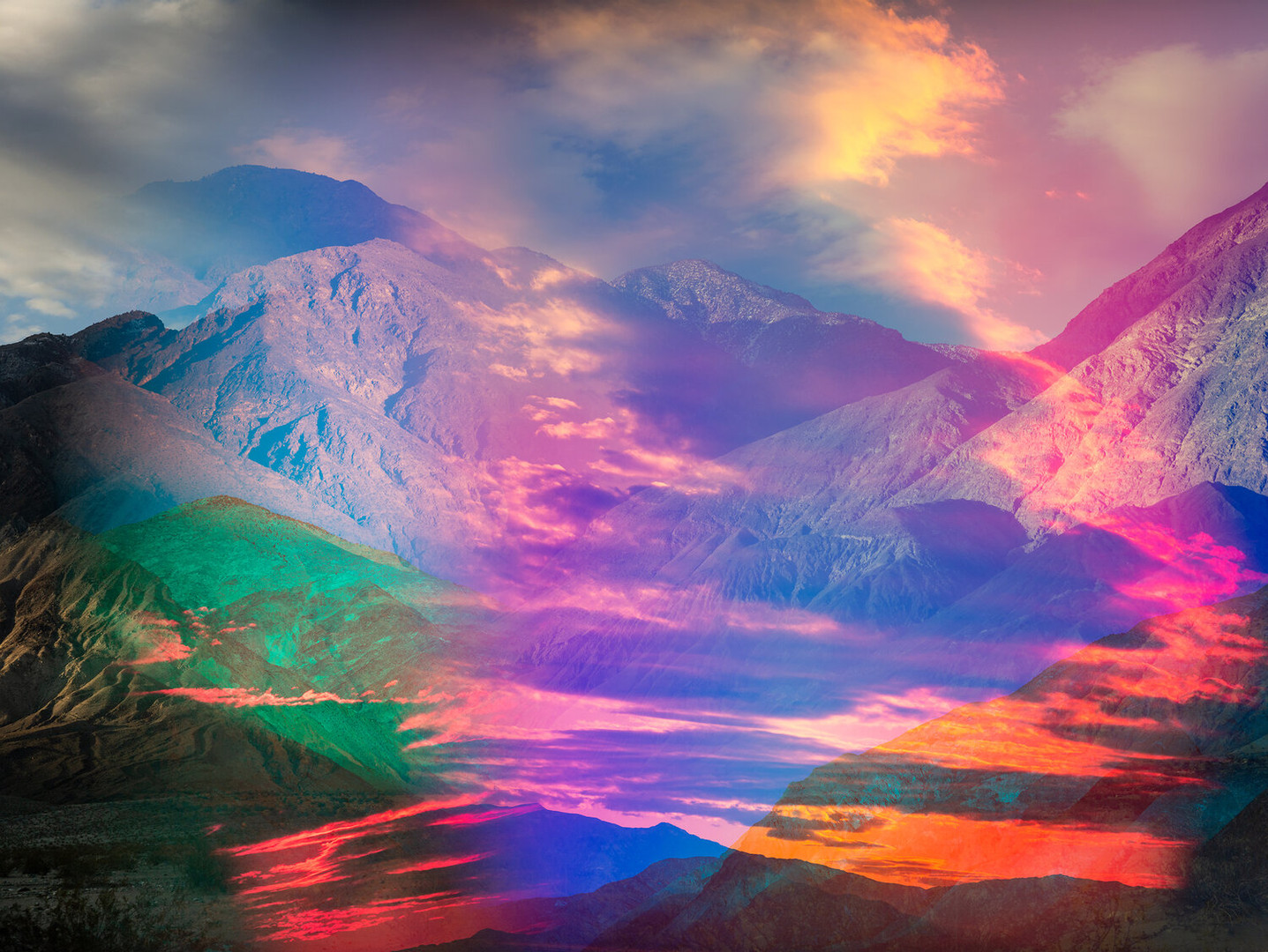 Terri Loewenthal Psychscape 01 (Black Mountain, CA) 2020 archival pigment print 30 x 40 in. edition 1/5 + 2AP courtesy of CULT | Aimee Friberg Exhibitions, Galerie Hug, Jackson Fine Art