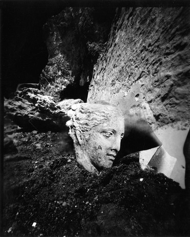 Vanessa Woods Untitled 2020 silver gelatin contact print from pinhole paper negative                                         8 x 10 in.  edition of 8 courtesy of Jack Fischer Gallery