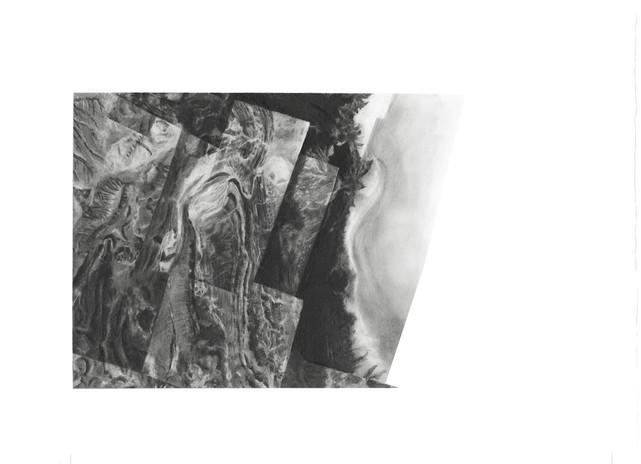 Rachelle Reichert Salar 4 2019 graphite on paper 10.7 x 11/5/16 in. framed