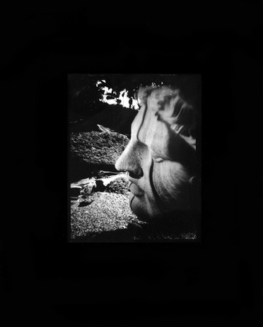 Vanessa Woods Nothing Beside Remains 2020 silver gelatin contact print from pinhole paper negative                                         edition of 8 8 x 10 in. courtesy of Jack Fischer Gallery