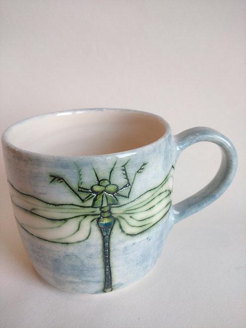 Jeanne Jackson dragonfly mug (no. 22)