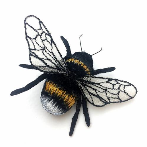 Vikki Lafford Garside Bumblebee brooch