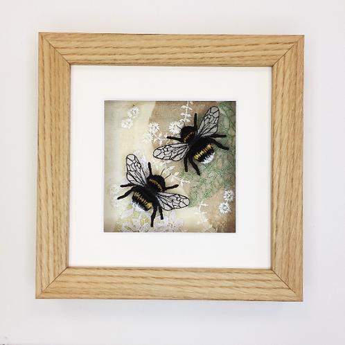 Vikki Lafford Garside Bumblebees on a Summer's Breeze
