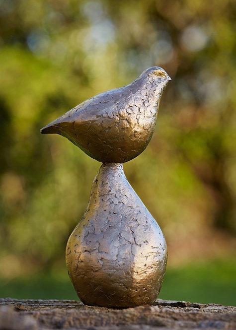 Caro Burberry bronze resin 'Harmony'