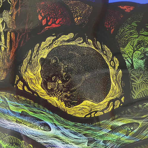 """Tamsin Abbott limited edition print """" Wilderness Dreaming"""""""