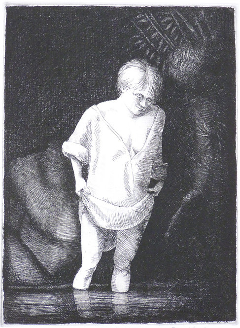 "Frans Wesselman"" After Rembrandt"" etching"