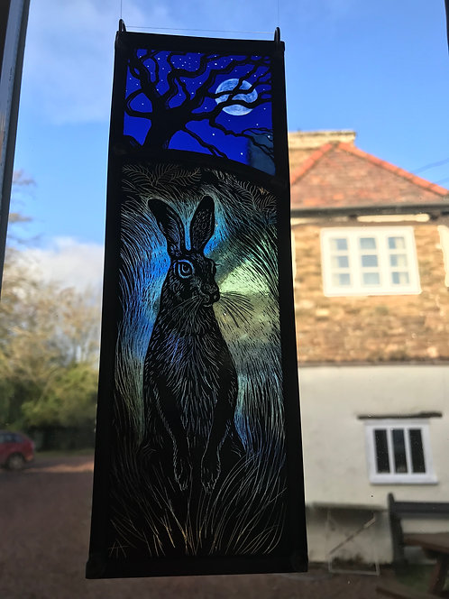 """Tamsin Abbott """" Ancient Woodland Hare"""""""