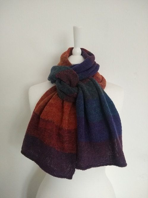 """Corinne Carr """"Kynance"""" soft lambswool mousse scarf"""