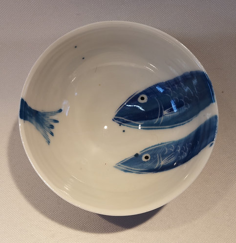 Carey Moon mini porcelain fish dish 5